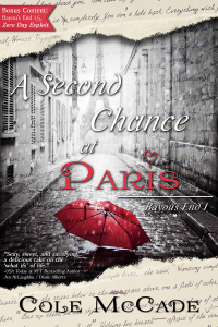 Cover Reveal: A SECOND CHANCE AT PARIS
