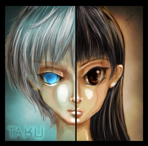 The character(s) in Taku.